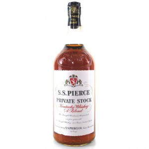 S.S. Pierce Private Stock Full Quart 1960s