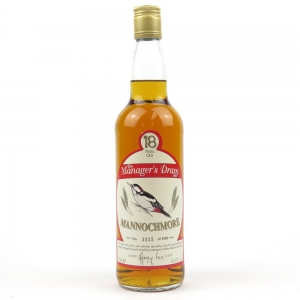 Mannochmore 18 Year Old Managers Dram 1997