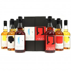 Chichibu Single Cask #3303, #1371, #651, #641 & Hanyu Single Cask #63, #957 6 x 70cl / LMDW