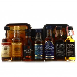 Whisky Miniatures x 7 / Includes Highland Park 12 Year Old 1990s