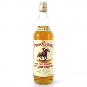 National Choice 12 Year Old Blended Scotch / Red Rum
