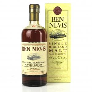 Ben Nevis 1970 Single Cask 26 Year Old #4537 75cl