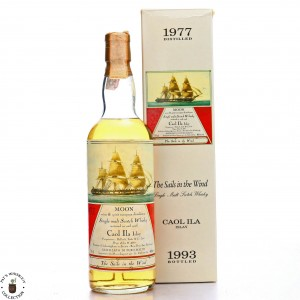 Caol Ila 1977 Moon Import / The Sails in the Wind