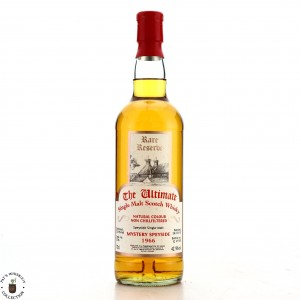 Speyside Single Malt 1966 The Ultimate 43 Year Old Rare Reserve