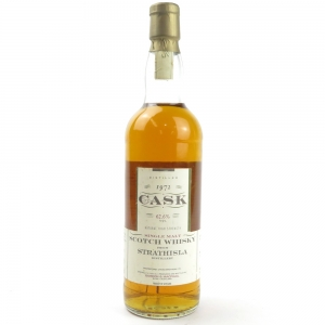 *CHECK CASK NOS AND OTHER INFO ON SIDE OF BOTTLE Strathisla 1972 Gordon and MacPhail Cask Strength
