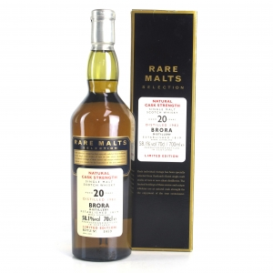 Brora 1982 Rare Malt 20 Year Old / 58.1%