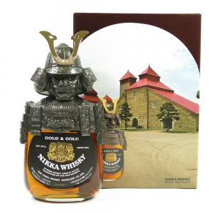 Nikka Gold and Gold Samurai Front