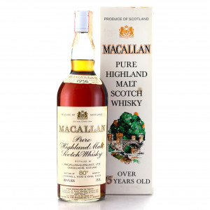 Macallan 1956 Campbell, Hope and King 80 Proof / Rinaldi Import