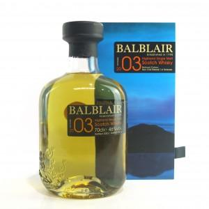 Balblair 2003 1st Release
