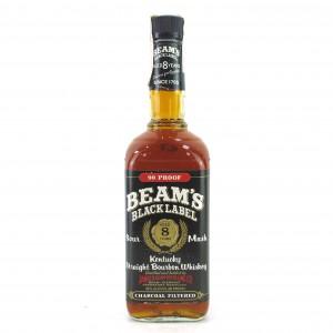 Beam's Black Label 8 Year Old 1980s
