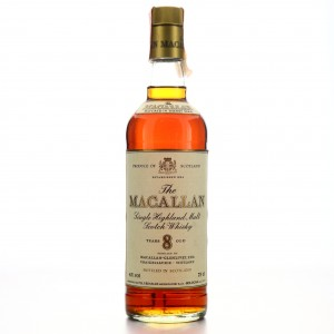 Macallan 8 Year Old early 1980s / Rinaldi Import