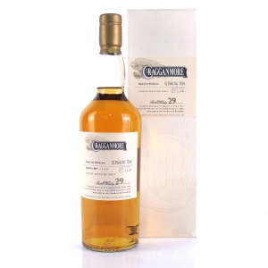 Cragganmore 1973 29 Year Old