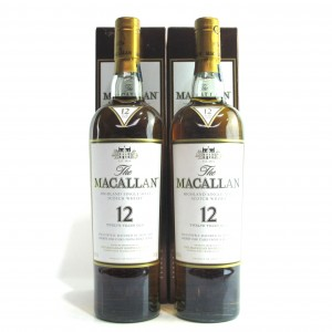 Macallan 12 Year Old / 2 x 70cl