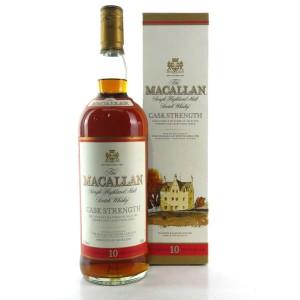 Macallan 10 Year Old Cask Strength 1 Litre / 57.2%