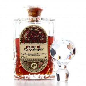 Pride of Strathspey 1938 Gordon and MacPhail 45 Year Old ' Book of Kells' Decanter