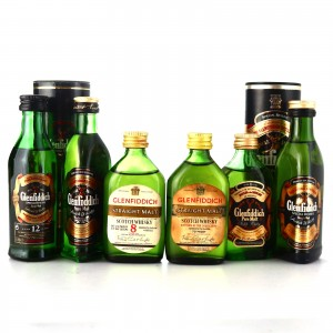 Glenfiddich Miniatures x 6