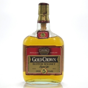 Gold Crown 5 Year Old Rare Old Scotch