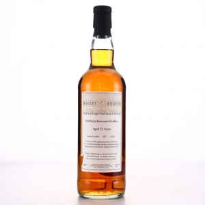 Benrinnes 2008 Whisky Broker 12 Year Old