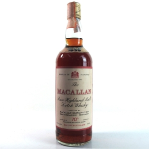 Macallan 1939 Gordon and MacPhail 1970s / Pinerolo Import