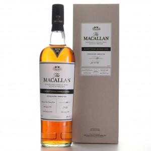 Macallan 1988 Exceptional Cask #3890-09 / 2018 Release