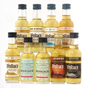 Benriach Miniature Selection 9 x 5cl