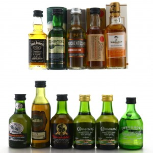 Whisky Miniature x 9