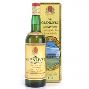 Glenlivet 12 Year Old / Carnoustie Golf Course Tin