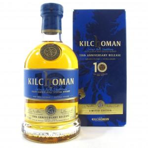 Kilchoman 10th Anniversary