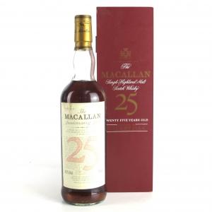 Macallan 25 Year Old Anniversary Malt