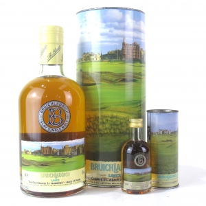 Bruichladdich Links 14 Year Old / Old Course, St Andrews / includes Miniature 5cl