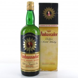 Ambassador Deluxe Scotch Whisky 1970s