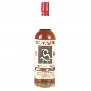 Springbank 12 Year Old 100 Proof Green Thistle