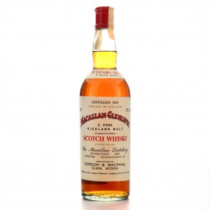 Macallan 1949 Gordon and MacPhail 25 Year Old / Co. Pinerolo Import