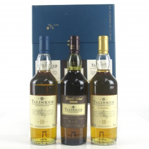 Talisker Gift Pack 3 x 20cl / Including 18 Year Old and 1993 Distiller's Edition