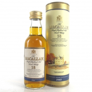 Macallan 18 Year Old 1985 Miniature 5cl