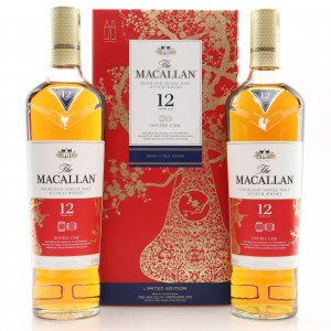 Macallan 12 Year Old Double Cask 2 x 70cl / Year of the Pig