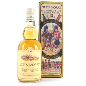 Glen Moray 12 Year Old 1980s / Black Watch Highland Regiment