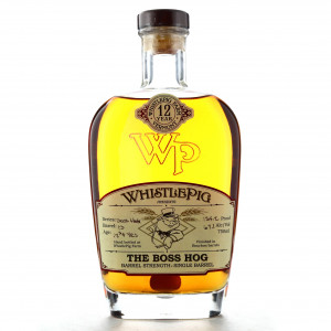 Whistlepig 12 Year Old Single Barrel Rye / The Boss Hog