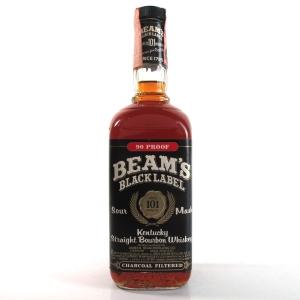 Jim Beam Black 101 Month Old 90 Proof Circa 1982