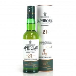 Laphroaig 21 Year Old Friends of Laphroaig 35cl