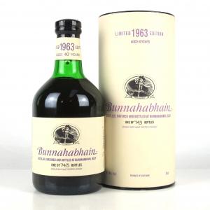 Bunnahabhain 1963 40 Year Old / Feis Ile 2003