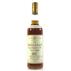 Macallan 18 Year Old 1977 / Gouin Import