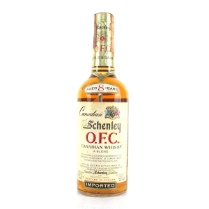 Schenley 1967 8 Year Old Canadian Whisky