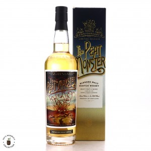 Compass Box The Peat Monster 10th Anniversary Cask Strength 75cl / Park Avenue Liquor Shop