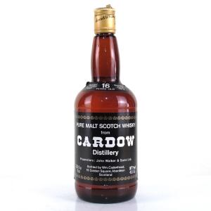 Cardow 1962 Cadenhead's 16 Year Old / Cardhu