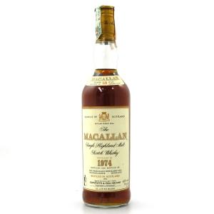Macallan 18 Year Old 1974 / Giovinetti Import