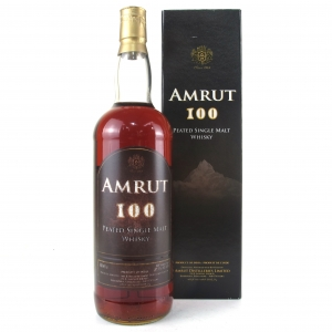 Amrut 100 Peated 1 Litre / Taiwan Exclusive