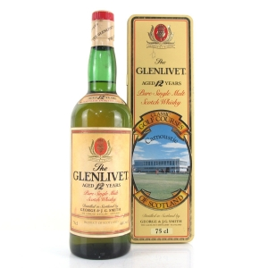 Glenlivet 12 Year Old Classic Golf Courses 1980s / Carnoustie