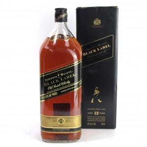 Johnnie Walker Black Label 12 Year Old 1.75 Litre
