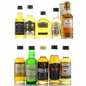 Whisky Miniature x 10